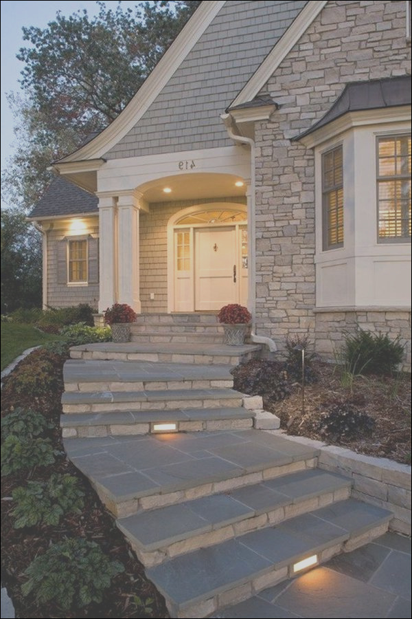 how to design exterior stairs