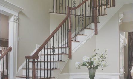 Entryway Stairs Ideas Awesome Dramatic Entry Way with Staircase Traditional