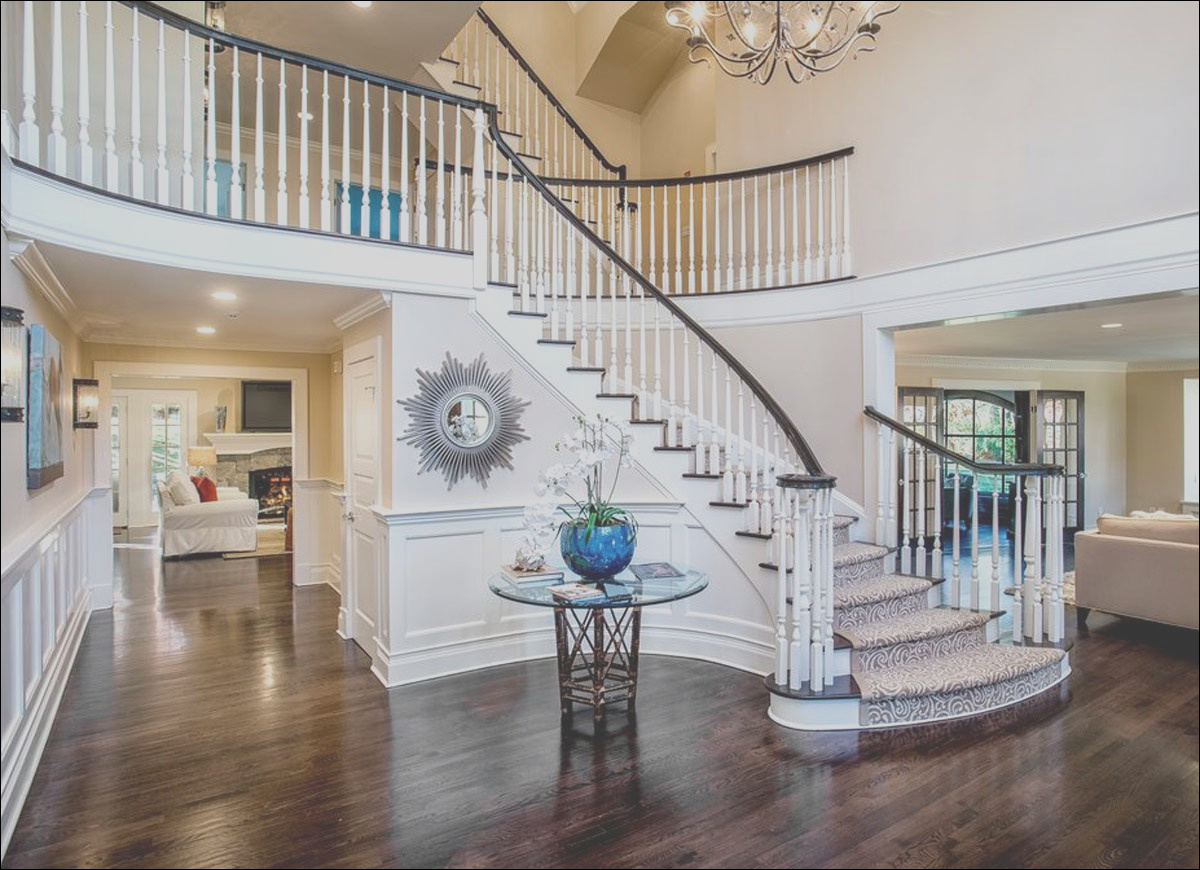 grand entryway with staircase