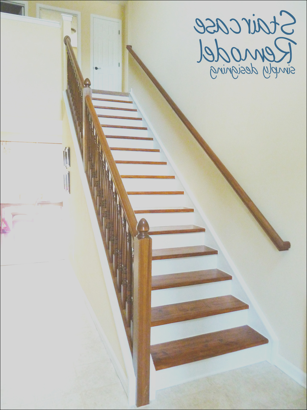 staircase make over part 6 finishing
