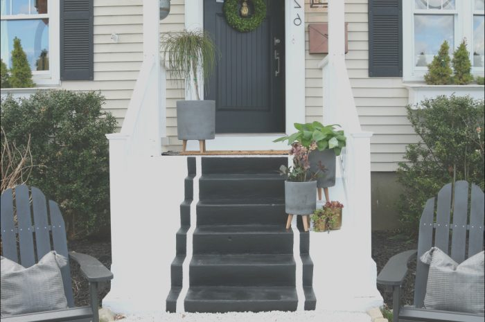 13 Excellent Front Porch Stairs Ideas Photos