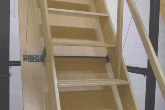 15 original Garage attic Pulldown Stairs Collection