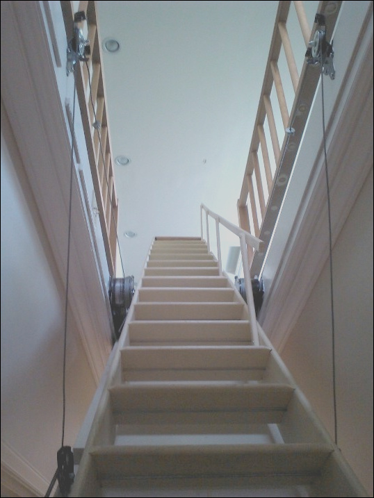 what kind of contractor would i need to service or replace pull down attic stair
