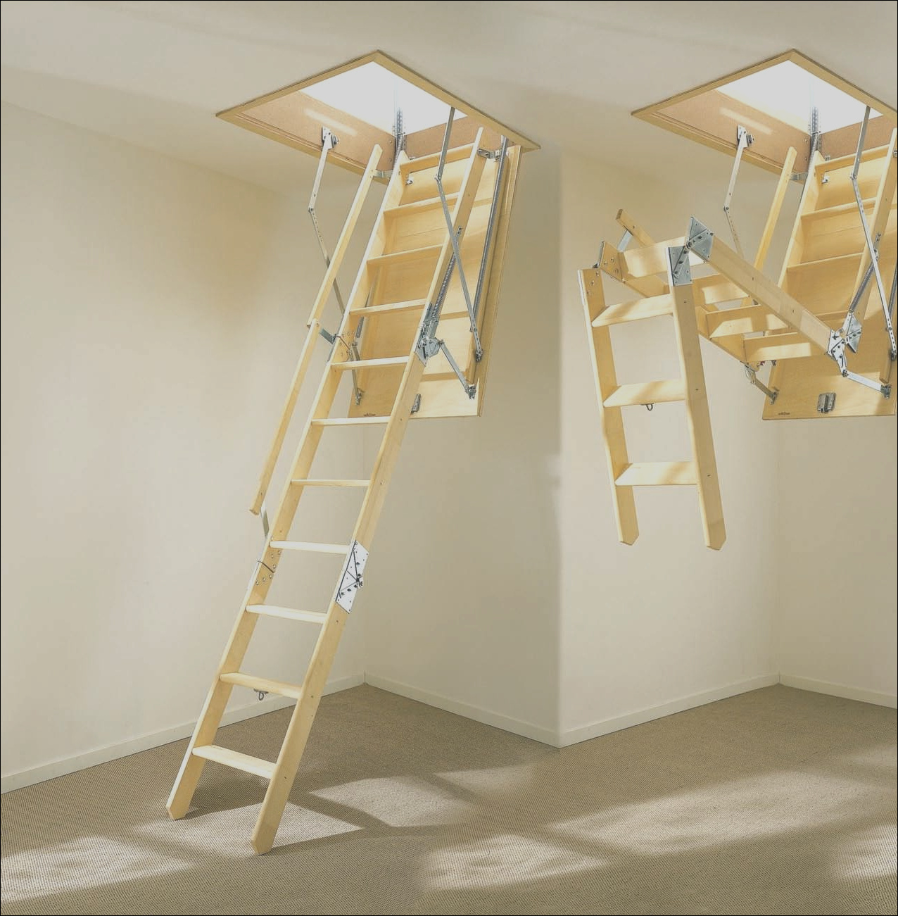 36 wide pull down attic stairs