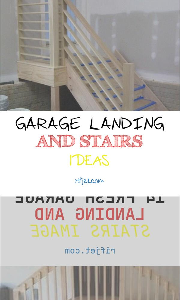 Garage Landing and Stairs Ideas Best Of Finished Stair with Images