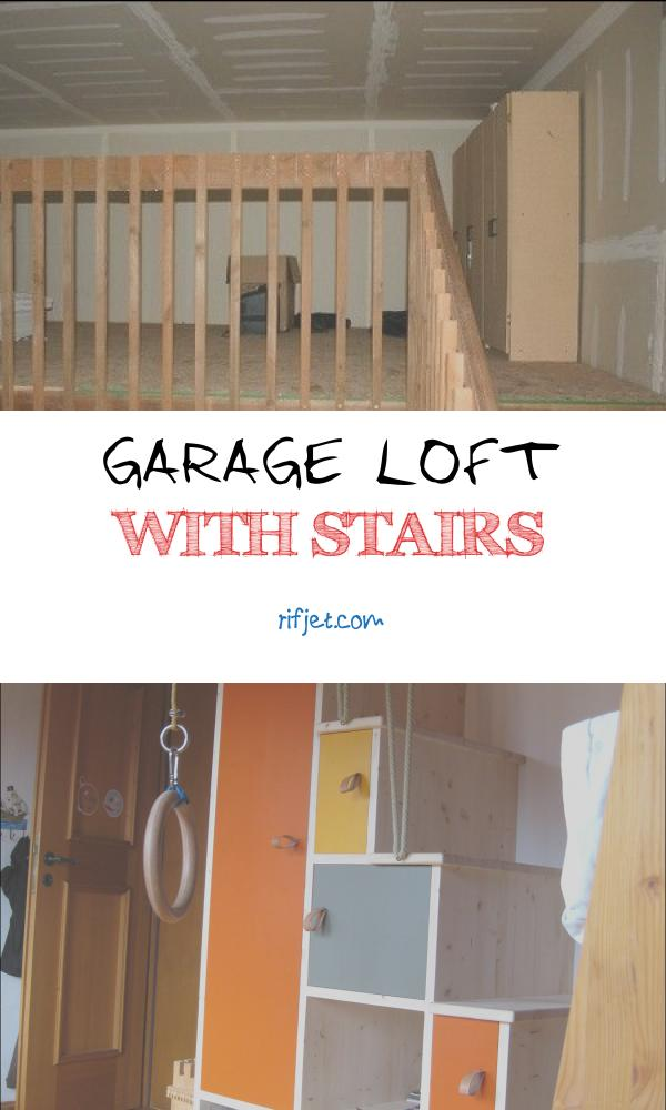 11 Prime Garage Loft with Stairs Photos