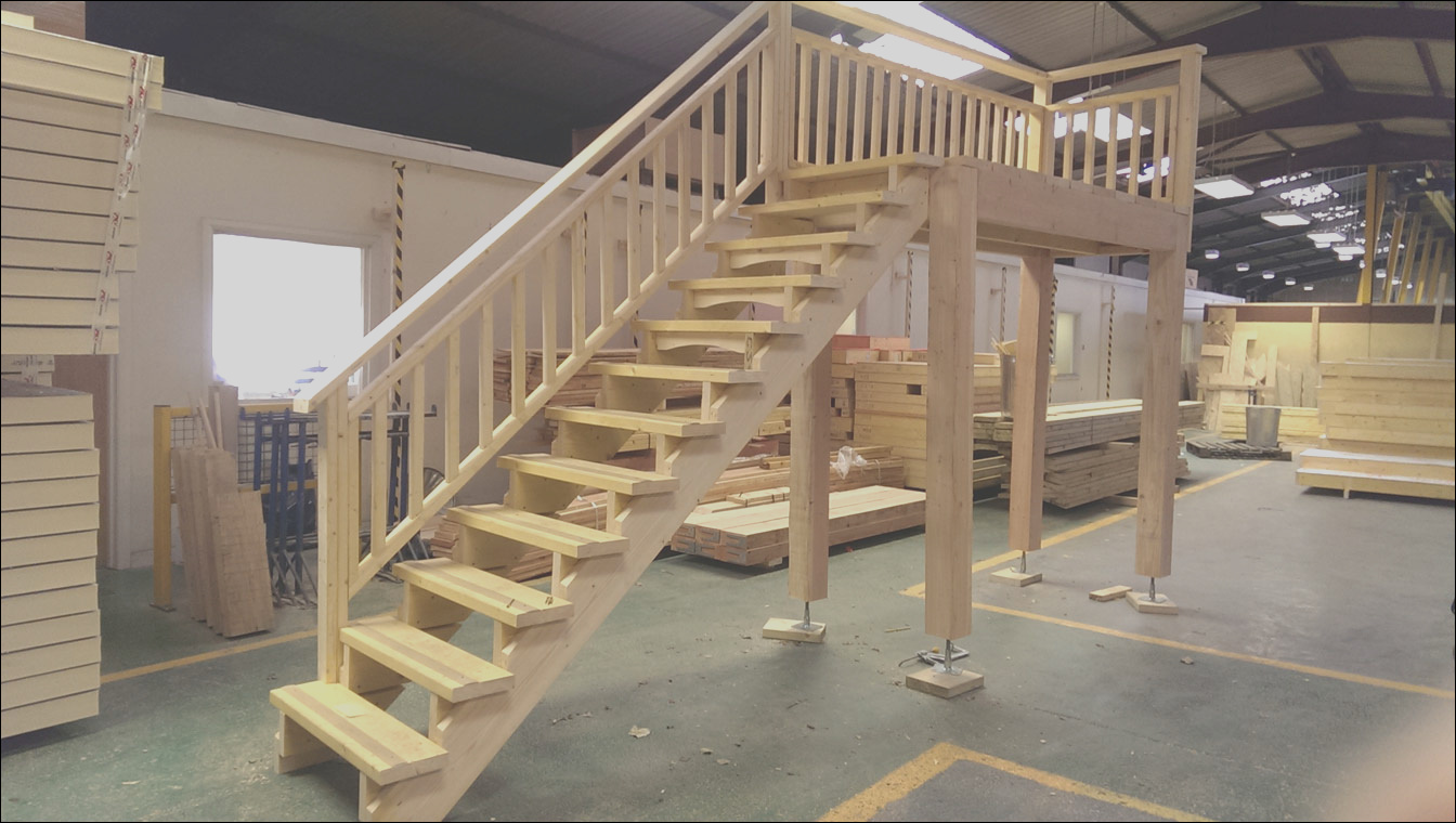 garage and carport staircases