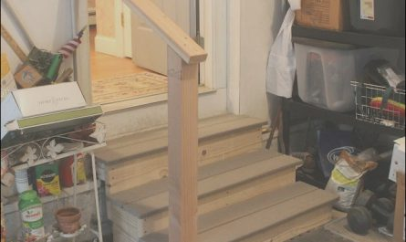 Garage Stairs Construction New Jackman Carpentry Garage Steps Build