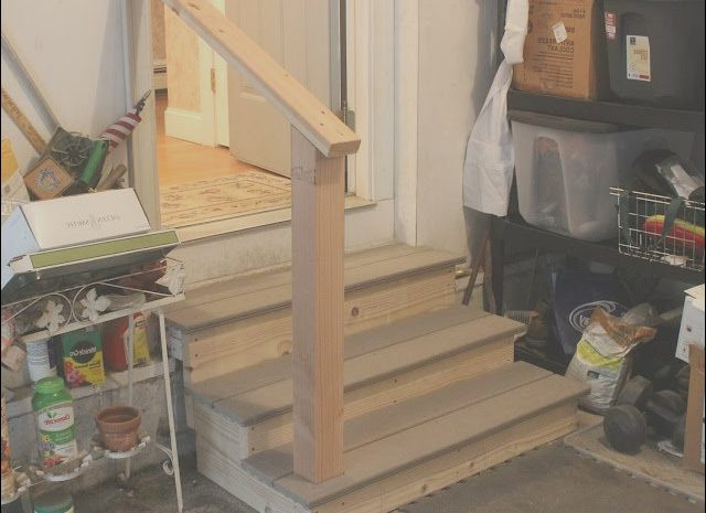 12 Petite Garage Stairs Construction Collection