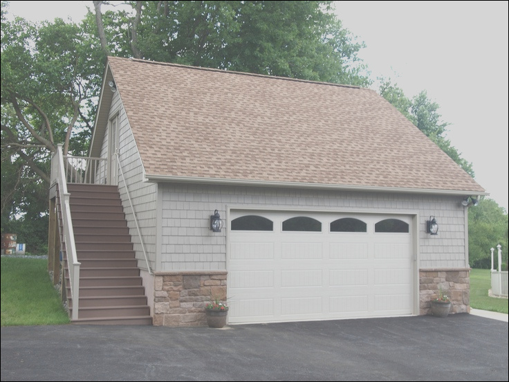 garage with upstairs
