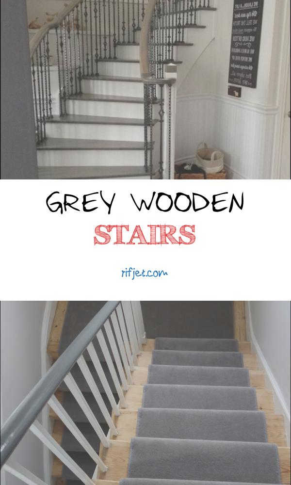 Grey Wooden Stairs Beautiful Wood Floor & Stair Refinishing Grey Stained Coloured