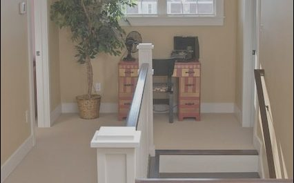 Hall Stairs Decor Inspirational Upstairs Hallway Craftsman Staircase Indianapolis