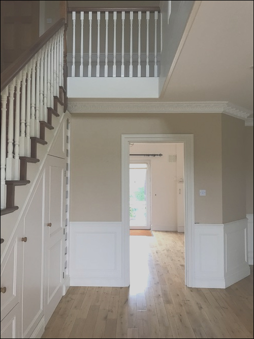 any ideas wel e in hall stairs and landing