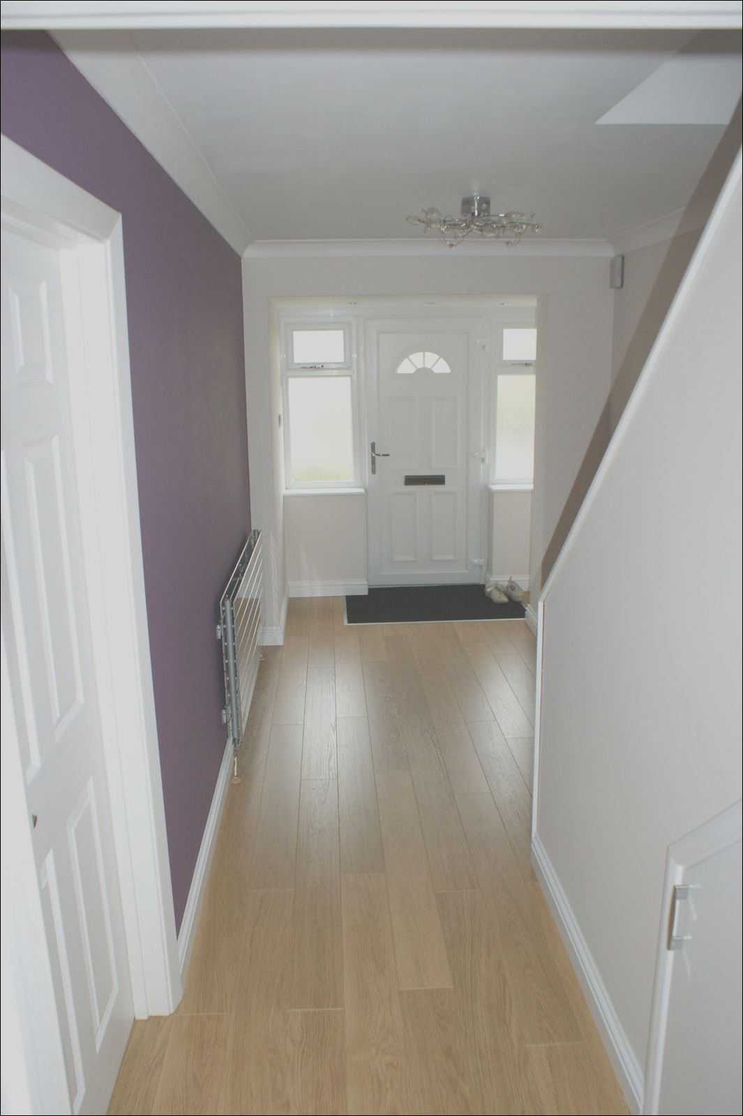 hall stairs and landing colour schemes ideas