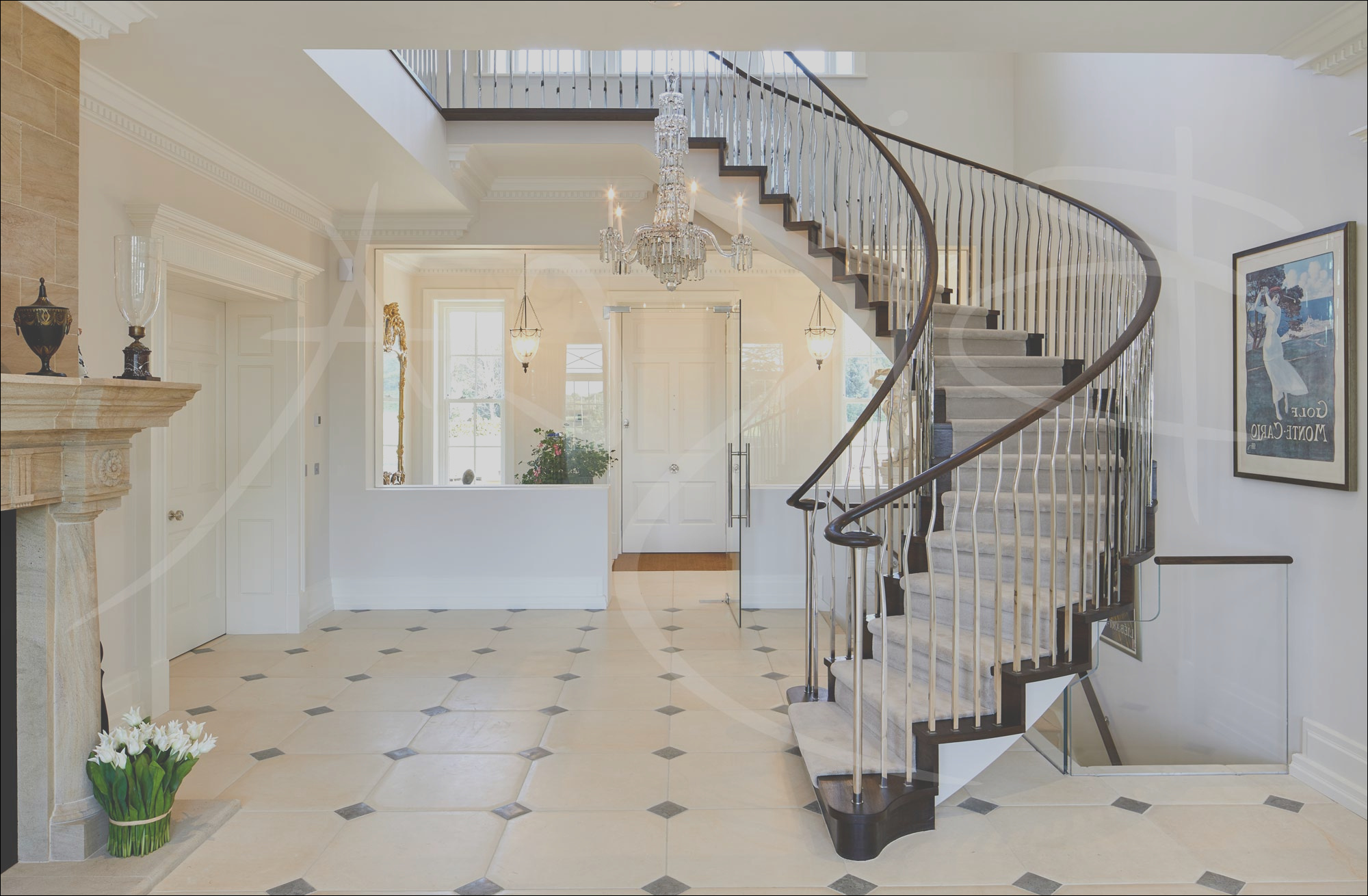 country house stairs cheshire