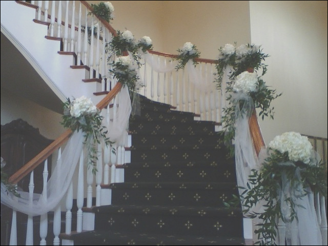 wedding staircase