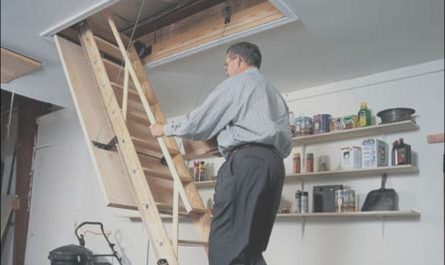 Install attic Stairs In Garage Luxury How to Install Pull Down attic Stairs
