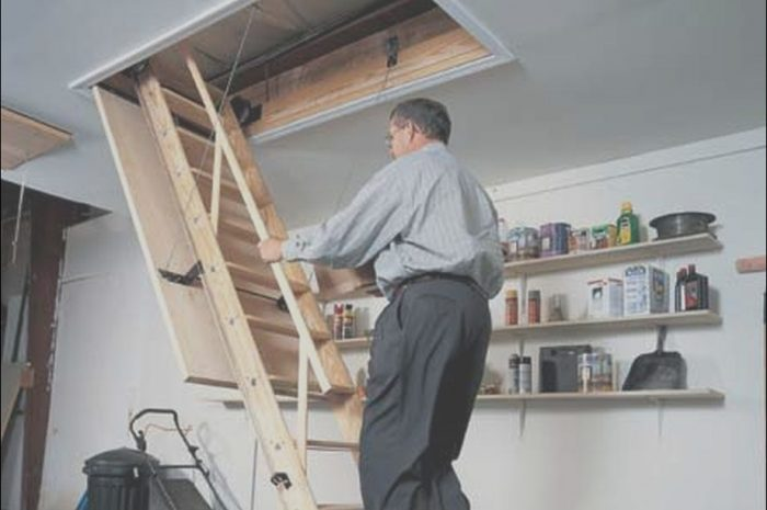 10 top Install attic Stairs In Garage Photos