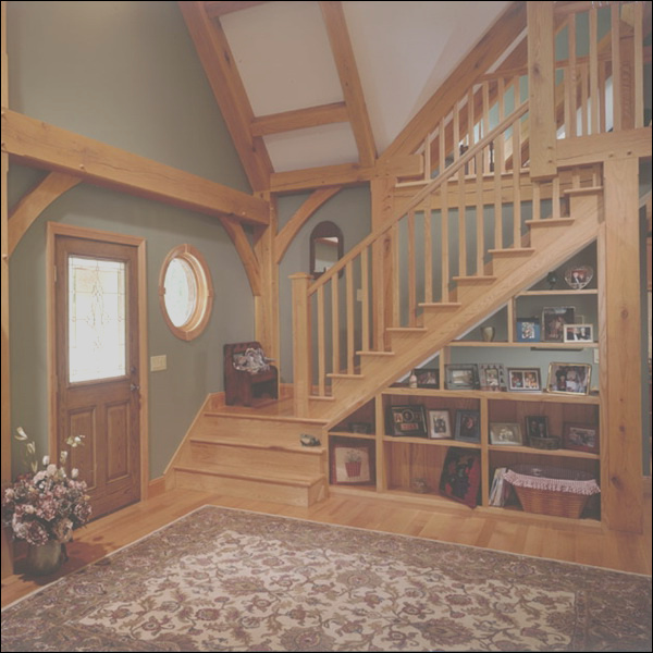 how to use space under the staircases