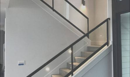 Interior Steel Stairs Inspirational Interior Steel and Glass Railing On Stairs In Tiburon