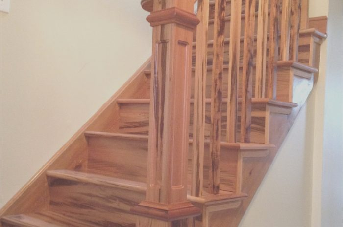 10 Complete Interior Wooden Stairs Images