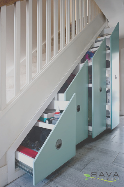 contemporary under stairs storage solutions contemporary staircase london