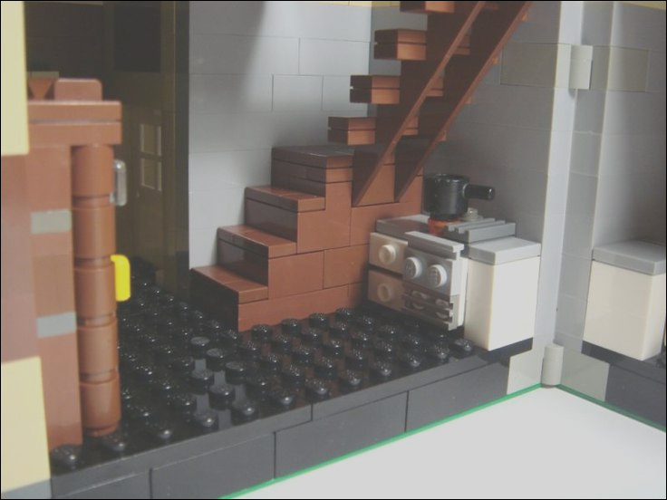 lego interior stairs escalators