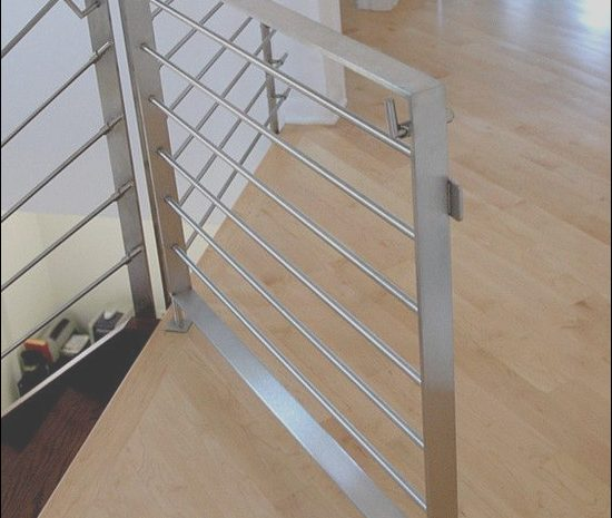 10 attractive Modern Baby Gates for Stairs Photography