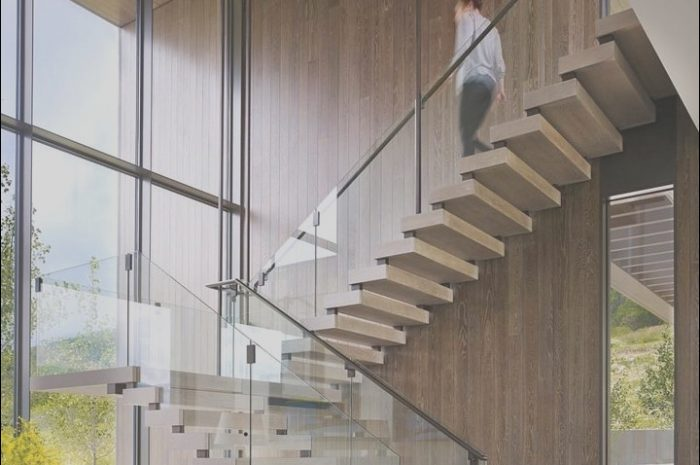 9 Unique Modern Entrance Stairs Photos