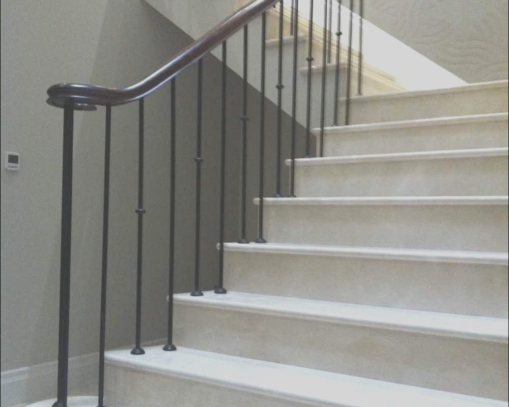 Modern Marble Stairs Luxury Marble Staircase Sutton Coldfield