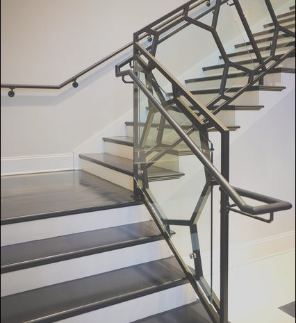 10 Perfect Modern Metal Handrails for Stairs Photos