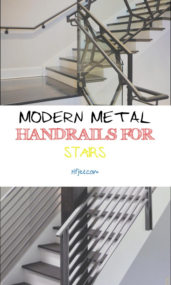 Modern Metal Handrails for Stairs Awesome Wrought Iron Handrail System Modern Staircase