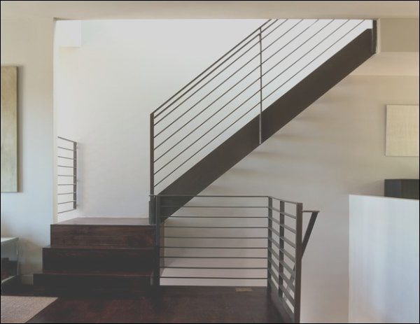 add contemporary style to your home with modern handrails