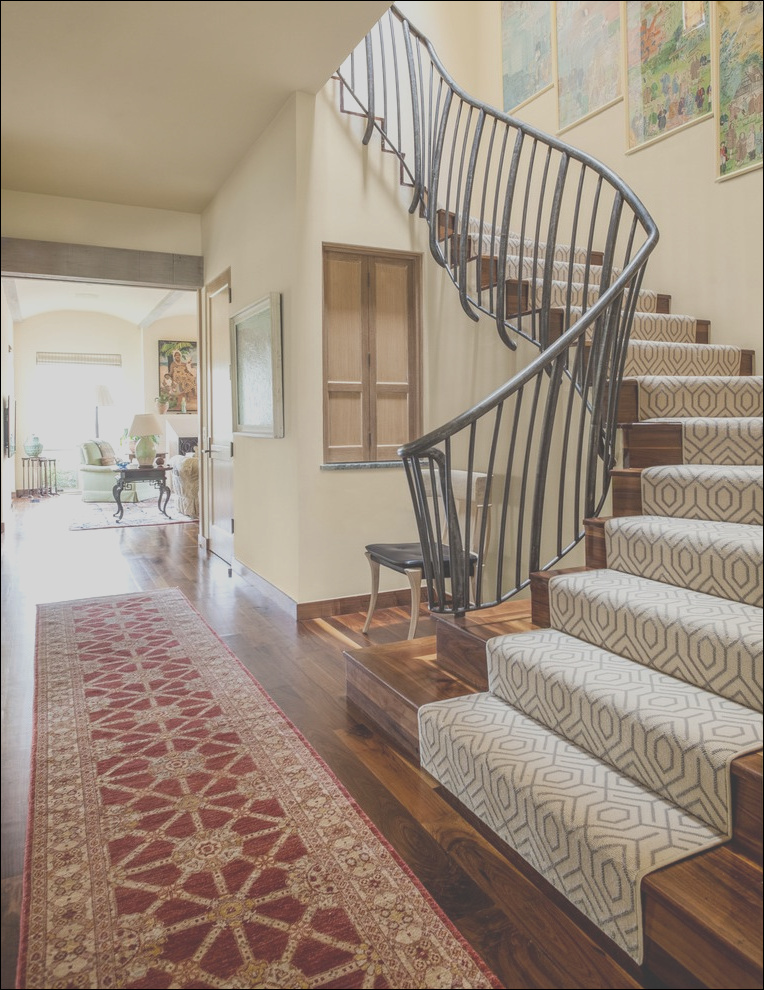 modern stair runners entry beach style with traditional pendant lights transitional