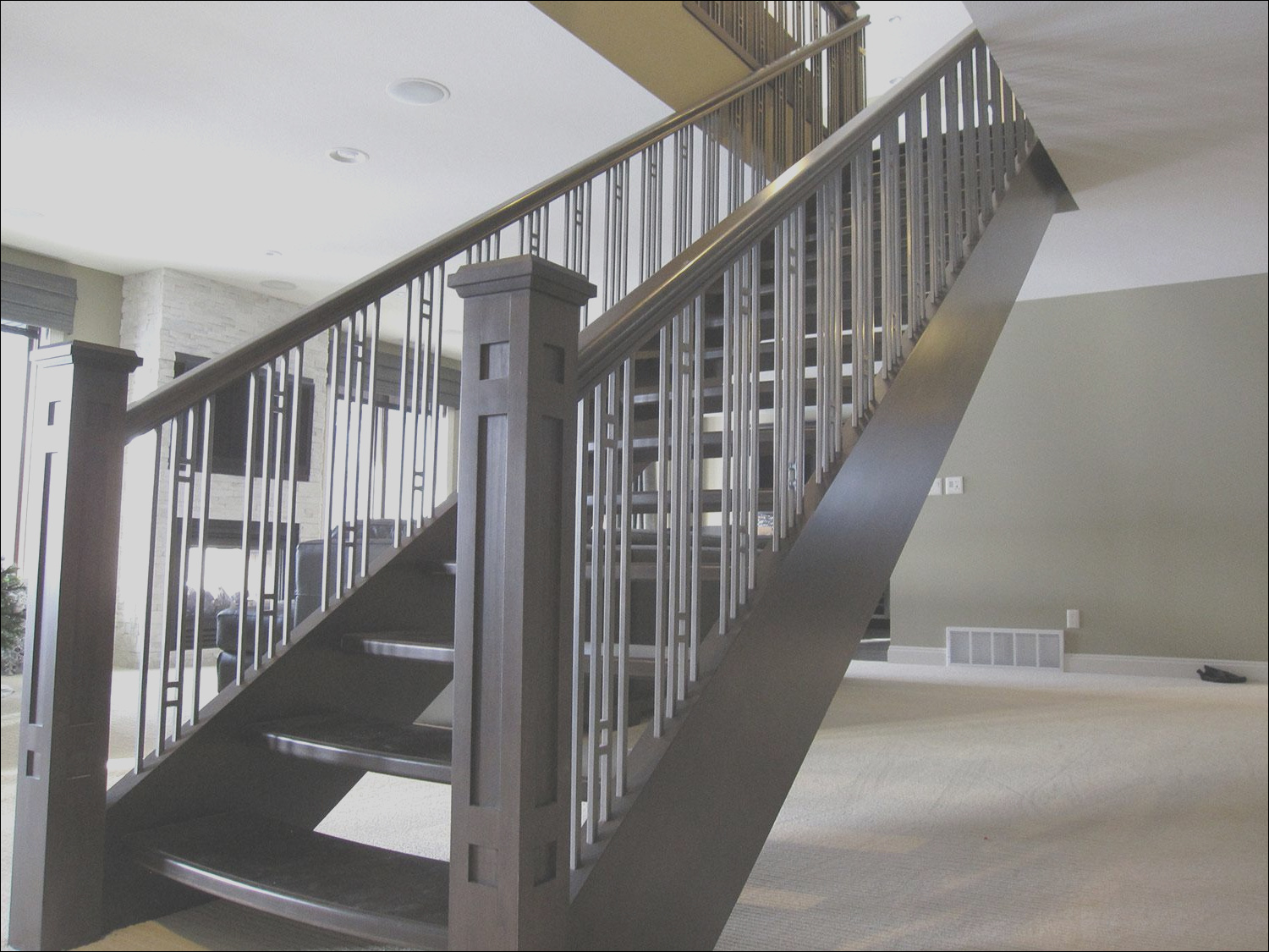 modern spectacular hand railing for stairs