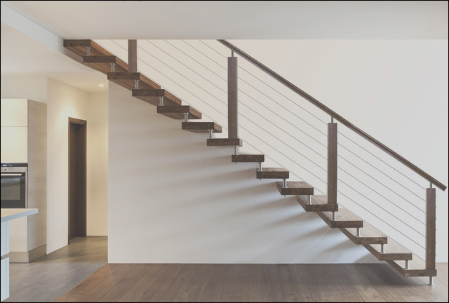 Cable Railing modern stair parts houston