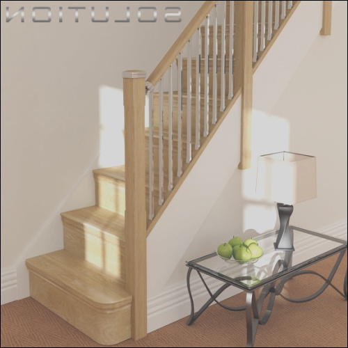 new solution stairparts bining timber metal to give a more modern contemporary look blog 39