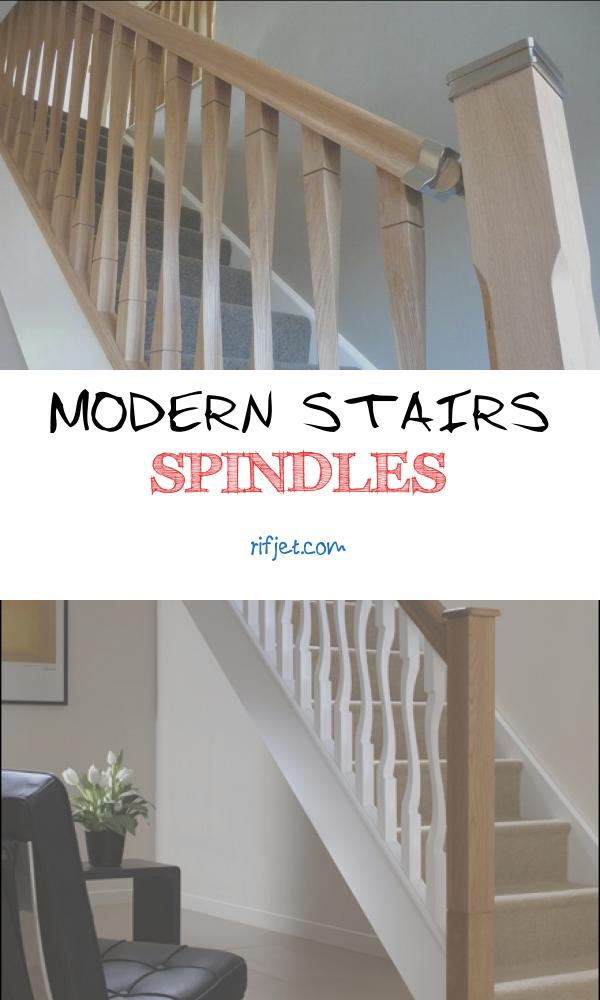 Modern Stairs Spindles Unique Contemporary Raymond Twist Stair Spindles 41mm