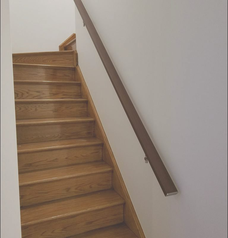 Modern Wall Mounted Handrails for Stairs Lovely Modern Square Flat Wall Mounted Stair Railing In Aluminum