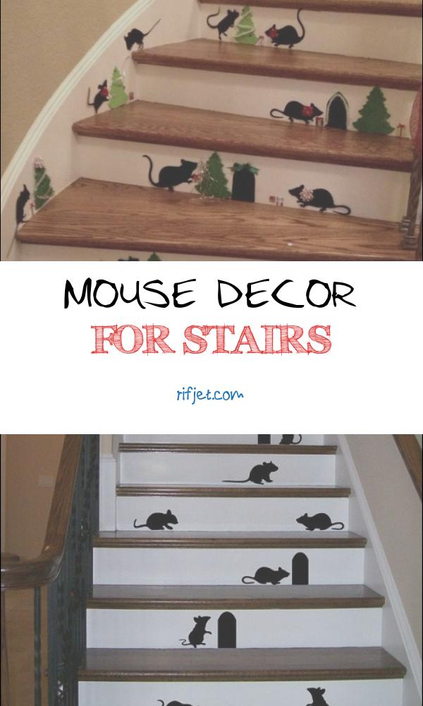 Mouse Decor for Stairs Best Of Christmas Mice On the Stairs Easy with Cricut