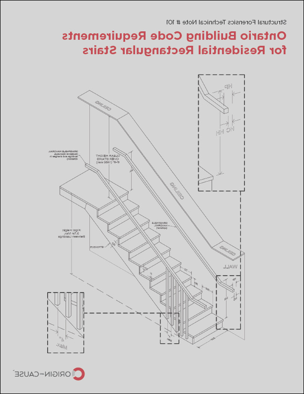 ontario building code requirements for residential rectangular stairs