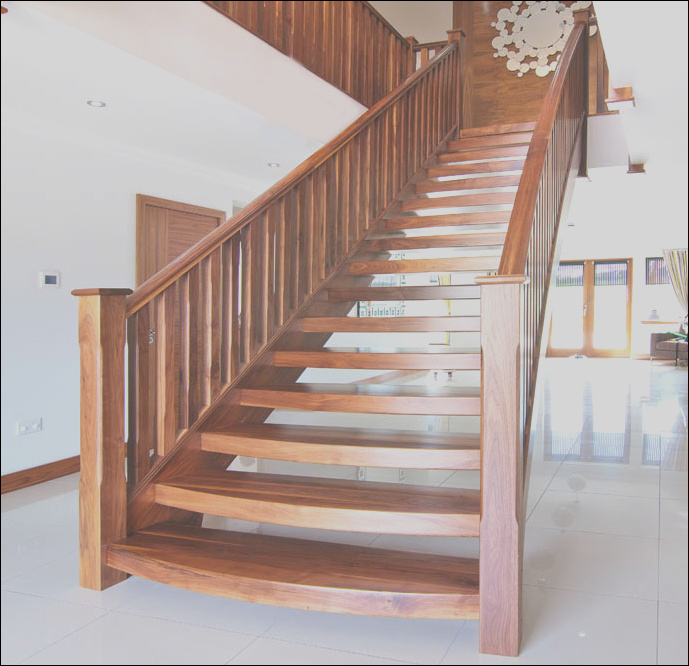 open staircase tread package
