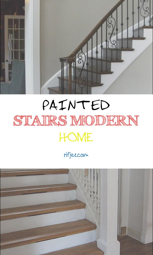 Painted Stairs Modern Home Elegant 50 Best Painted Stairs Ideas for Your Modern Home [ ]