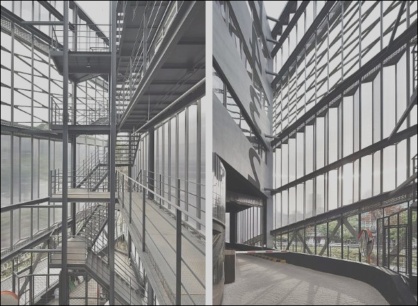 how to use rhino to create an attractive architecture in a parking