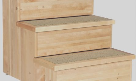 Pet Stairs Wooden New Trixie Wooden Pet Stairs Natural Chewy