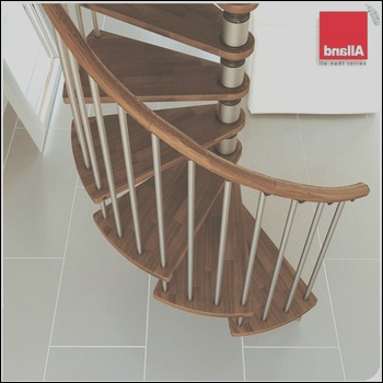 Contemporary duplex house spiral stairs PVC