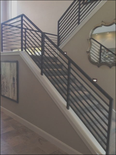 modern stair railings contemporary staircase austin