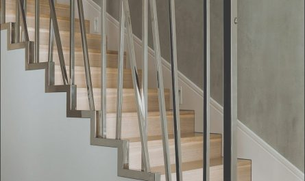 Railing for Stairs Modern New Innovative Metallic Railing Design Idea for Modern Stairs