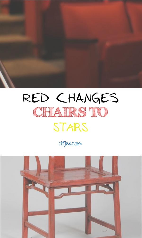 Red Changes Chairs to Stairs Luxury Panning Footage Rows Red Vinyl Chairs Along the