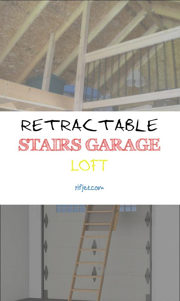 Retractable Stairs Garage Loft Awesome 11 Useful Retractable Garage Loft Stairs In 2020